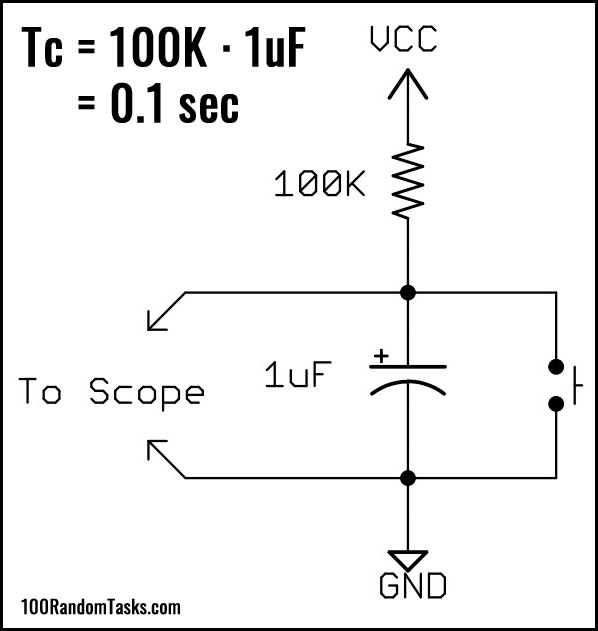 Capacitor Test Circuit