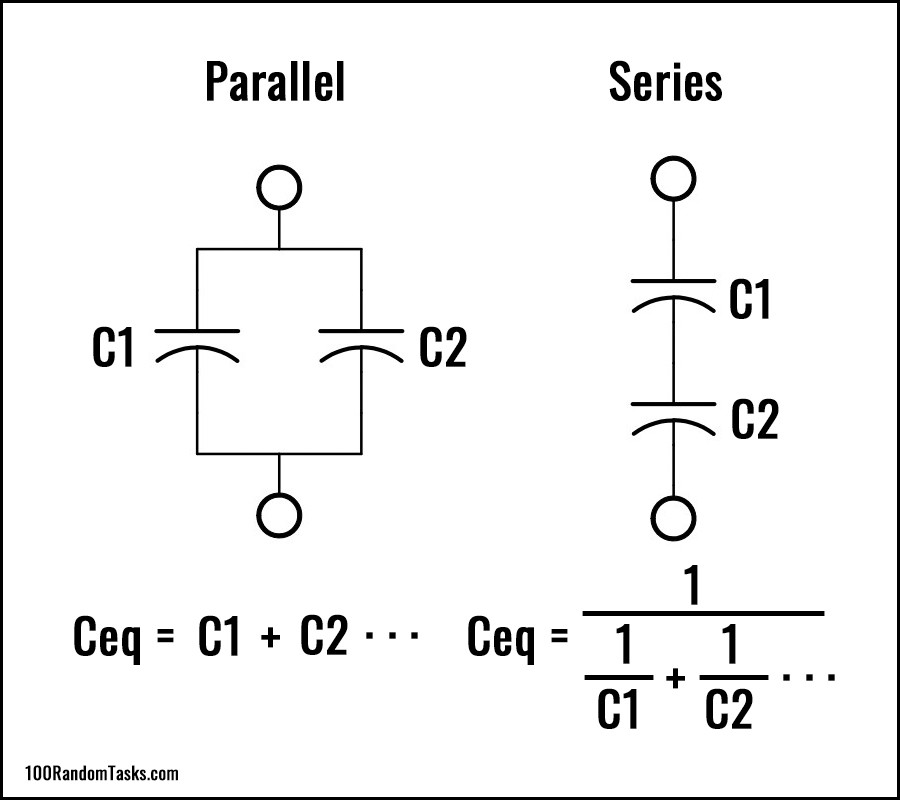 Capacitor Equivalent Circuits