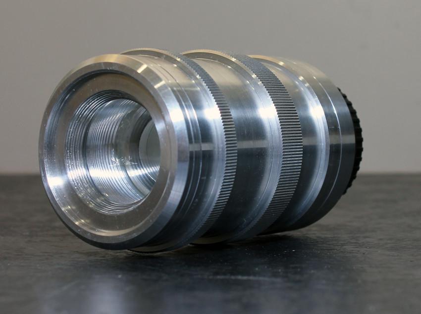 Custom designed 117 mm F/4.5 assembled iso