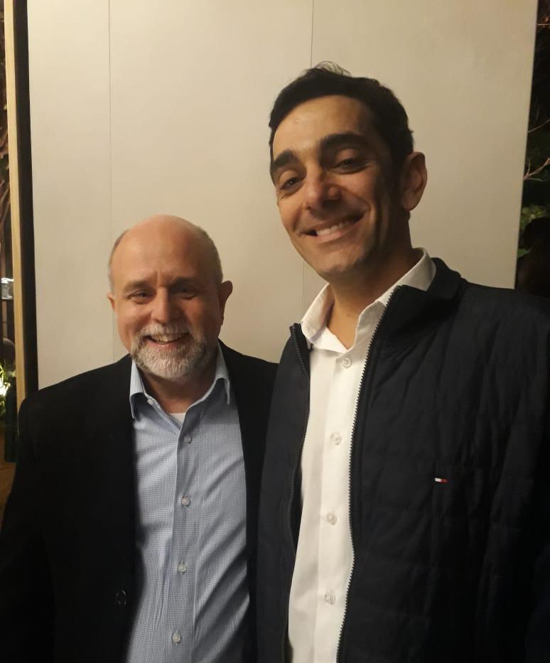 Maurício Siqueira  e Marcelo Tamassia