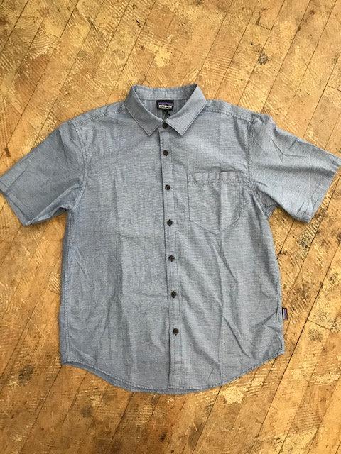 M's Patagonia Organic Slub Poplin Shirt