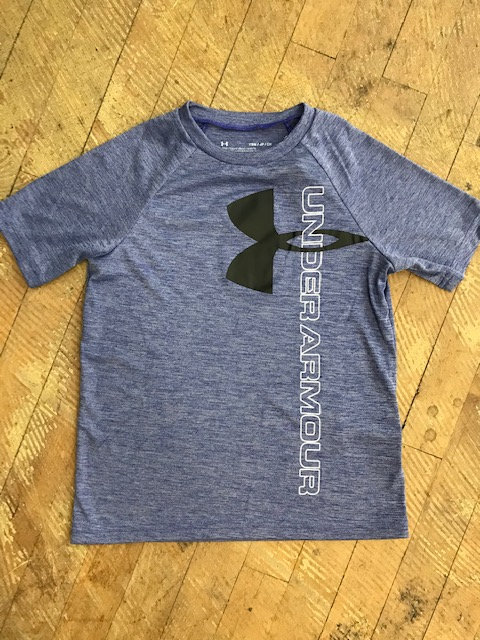 Youth Under Armor Heat Gear Logo Shirt