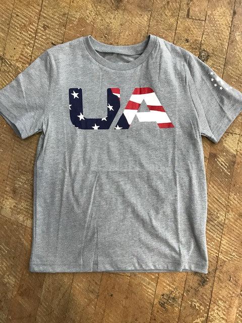 Youth Under Armor Heat Gear USA Shirt