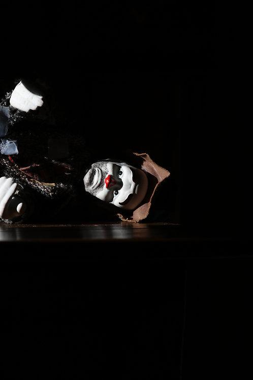 Laid clown