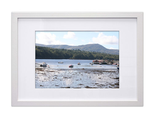 Mounted picture for White A3 Frame
