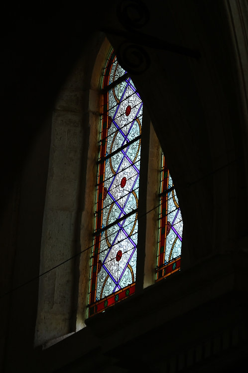 Holy stained glass
