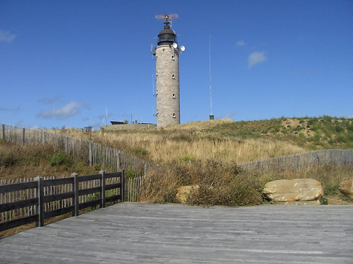 The lighthouse by the sea