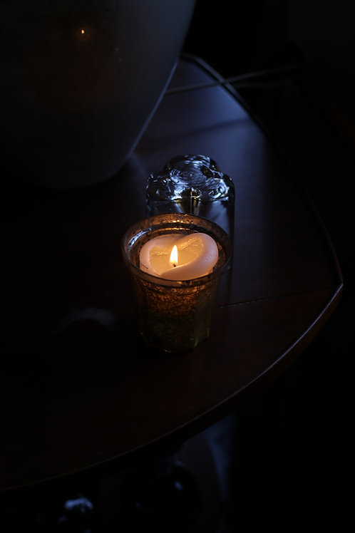 Candle in Champagne