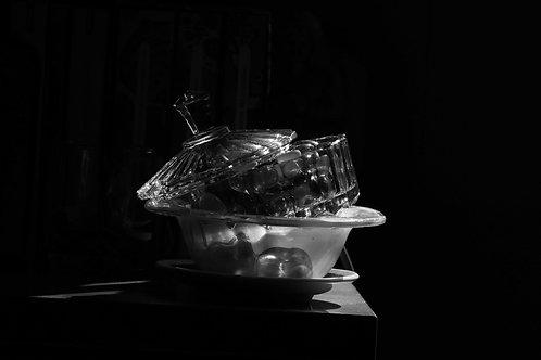 Argentix glass jar