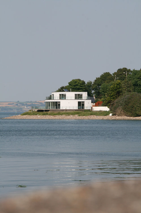 The isolated villa