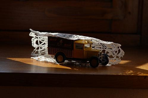 Wrapped van