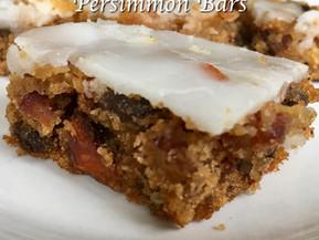 Persimmon Bars