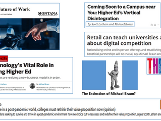A Compendium of Work on Higher Ed Disruption
