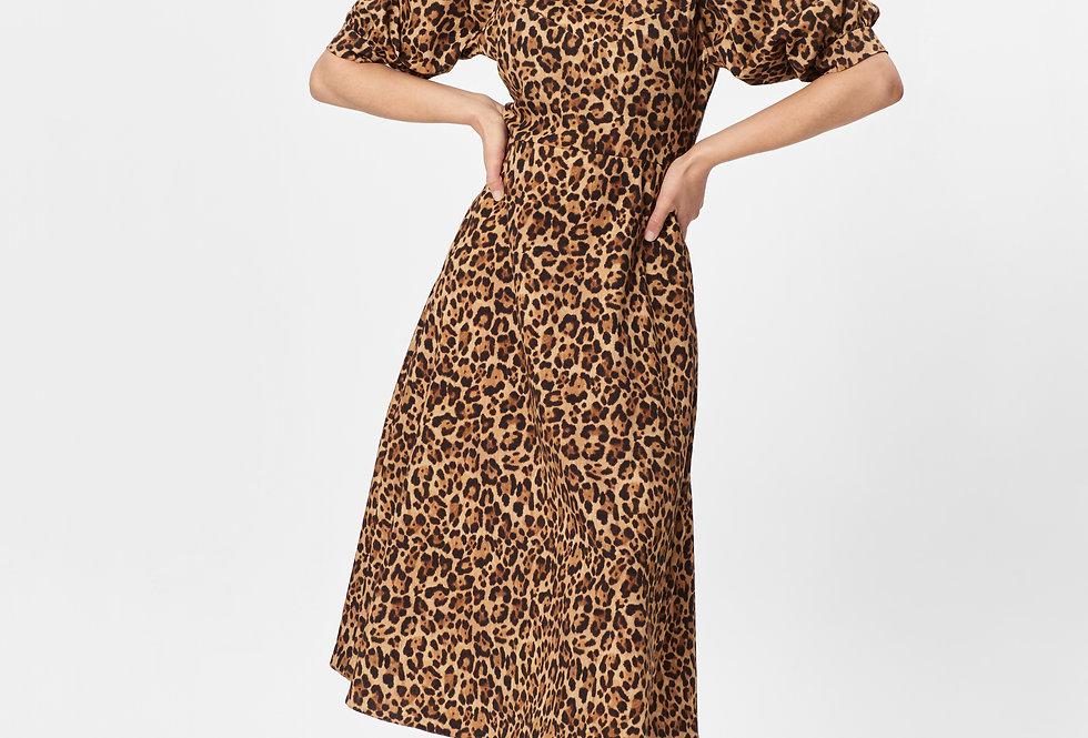CONFIDENT DRESS LEOPARD