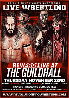 Rev Pro Live at The Guildhall