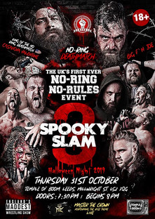 Rise Undergound Spooky Slam 3