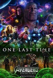 Avengers Endgame Fan Poster