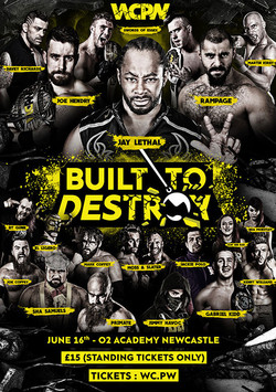 WCPW Built to Destroy 2017