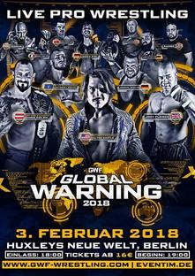 GWF Global Warning 2018