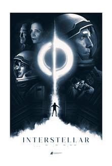 Interstellar Fan Poster