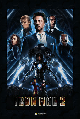 Iron Man 2 Fan Poster