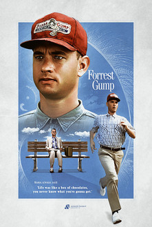 Forrest Gump Fan Poster