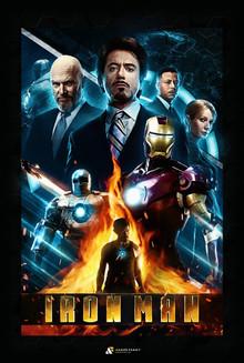 Iron Man 2008 Fan Poster