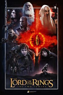 LOTR Fan Poster