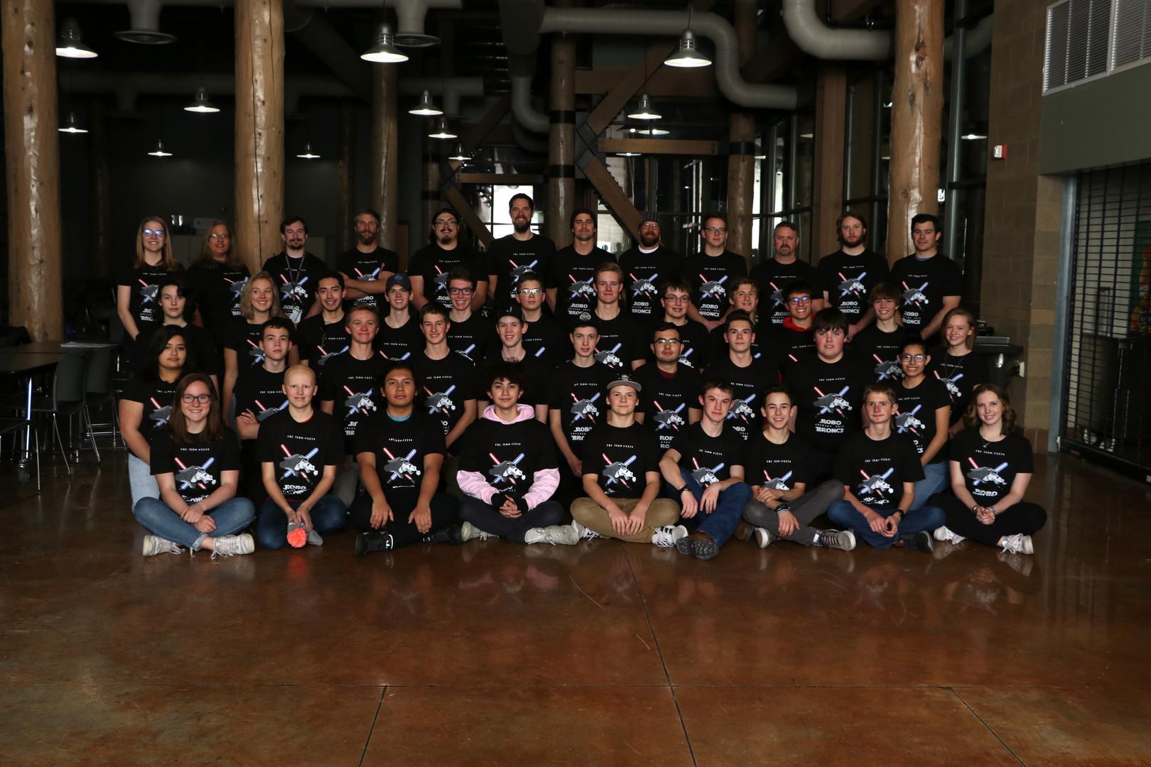 JHHS Robotics 19-20 team picture brighte