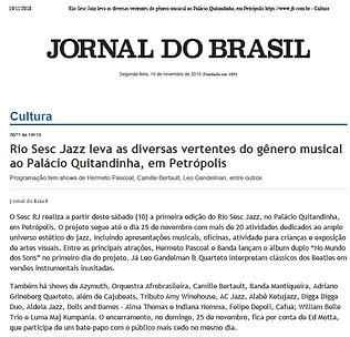 Jornal doBrasil - 19/11/2018
