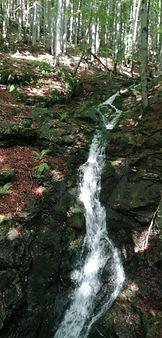 Huťský vodopád, Dvoračky, Zadní Plech
