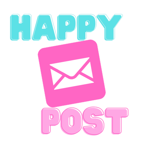 Happy Post Sticker