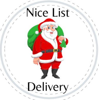 Nice List Delivery Sticker