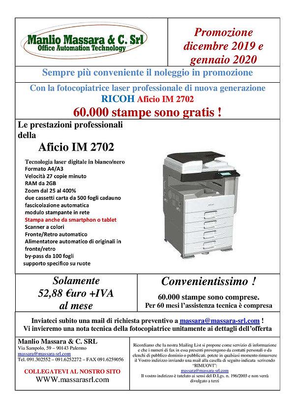 Volantino promo noleggio IM 2702 04.12.2