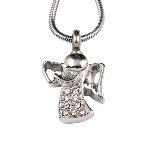 Angel Stainless Steel Pendant