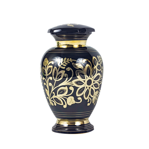 Florentine Etched Urn
