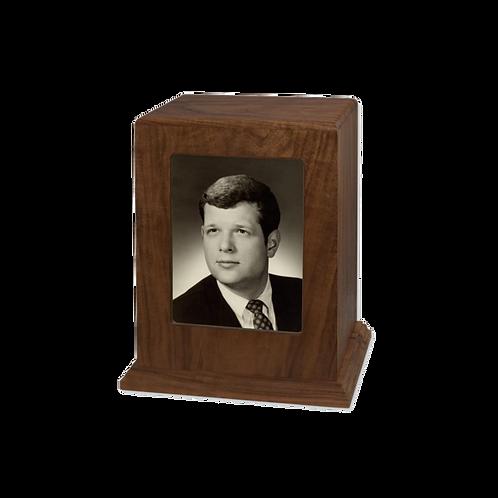 Portrait Solid Wooden Urn