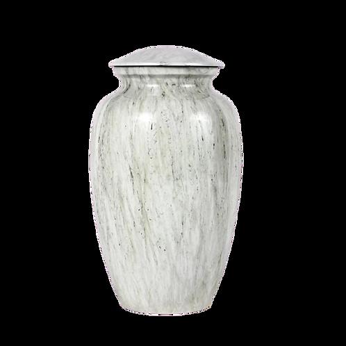 Stylus Enameled Aluminum Urn
