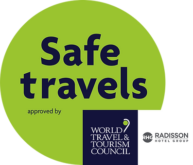 WTTC SafeTravels Stamp Example with Radi