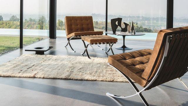 fauteuils-en-cuir-et-repose-pied-de-knol