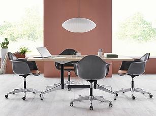 Eames_Segmented Base_Eames Task Chairs_Bubble Lamp.jpeg