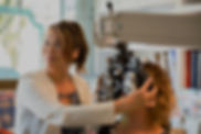 eye exam at Vancouver optometrist