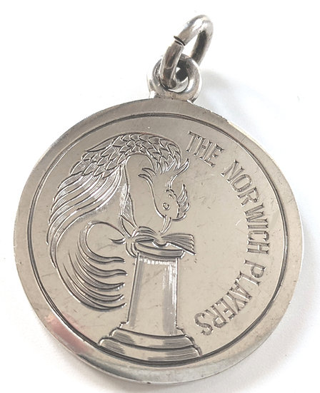 The Norwich Players Silver Medal 1932 / Maddermarket Theatre
