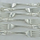 Thumbnail: 1899 DINNER Forks. A Great Set of Six Antique Sterling Silver Kings Pattern