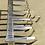 Thumbnail: 1934 Mappin & Webb Art Deco Solid Silver Toast/Letter Rack  Hallmark