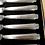 Thumbnail: 1936 Art Deco Cased Set Of 6 Afternoon Tea Knives - Silver Handles C.H. Beatson