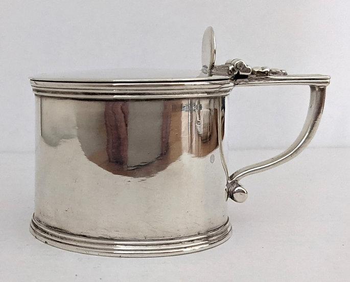 Georgian Silver Mustard Pot by Barnards of London 1832 140g
