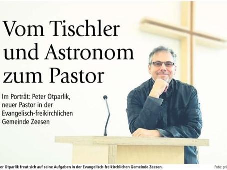 Vom Tischler und Astronom zum Pastor