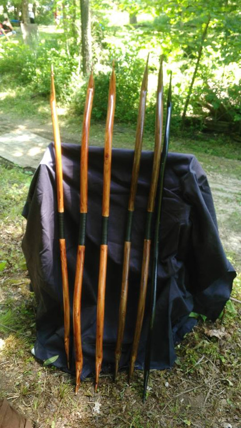 Bows from Woodland Archery