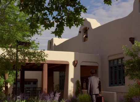 Spanish pueblo revival. Arquitectura en Breaking Bad y BCS.